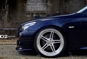 Легкий тюнинг BMW E60 | Кастомные диски D2FORGED